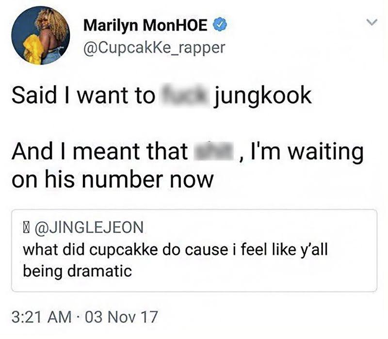 cupcakke jungkook