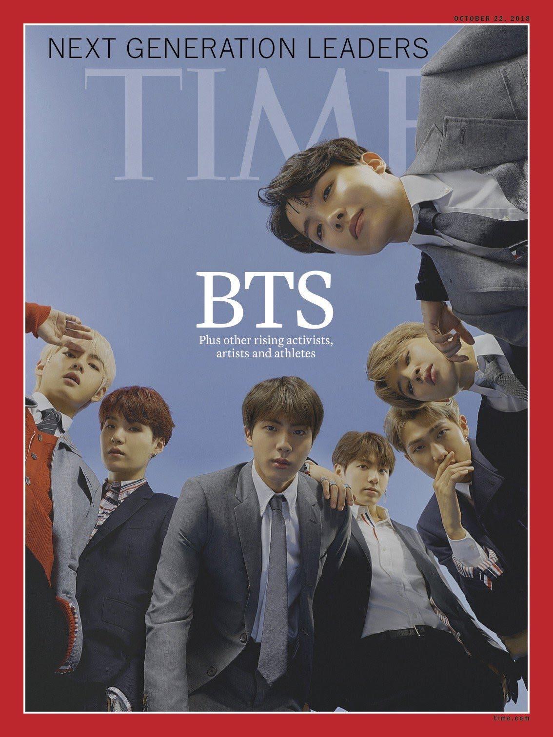 bts magazine cover