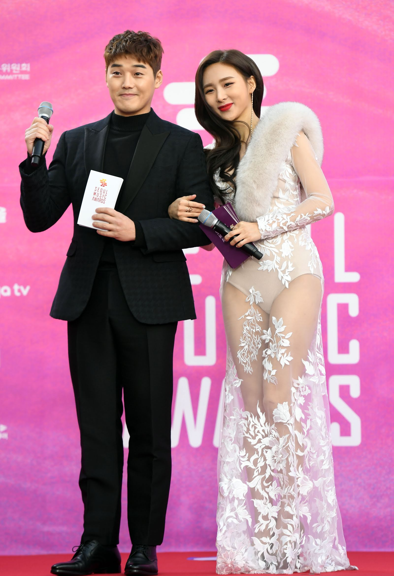 seoul music awards mc dress