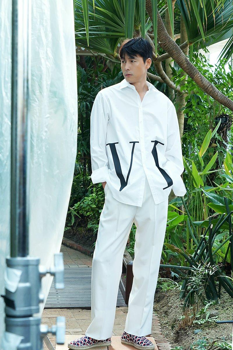 Jung WooSung, Vogue Korea Photoshoot Behind-the-Scene • Kpopmap
