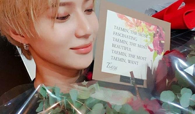 taemin solo, taemin flower