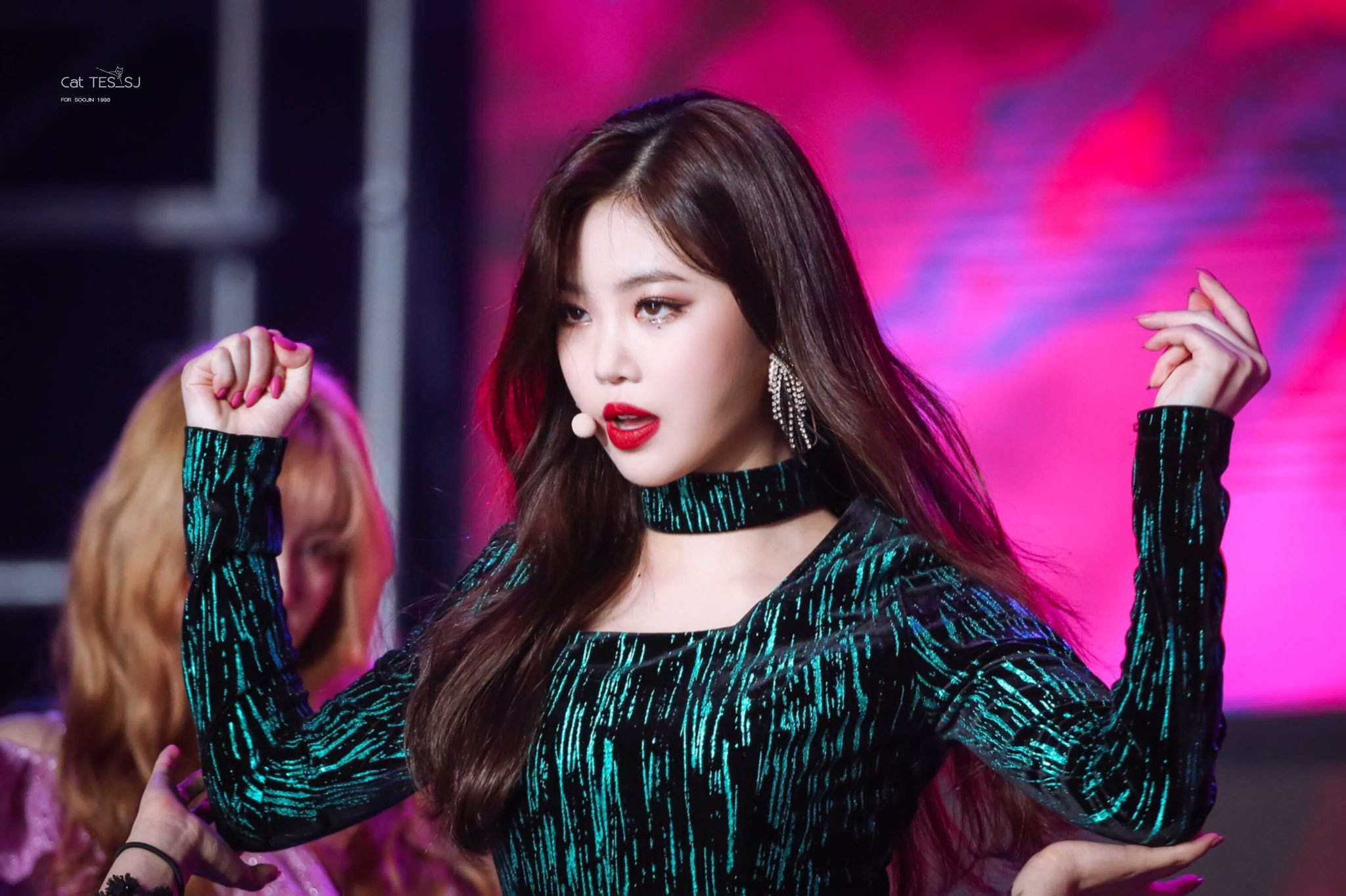 gidle, gidle profile, gidle members, gidle facts, gidle weight, gidle height, gidle leader, gidle vocal, gidle dance, gidle maknae, gidle visual, gidle soojin, soojin