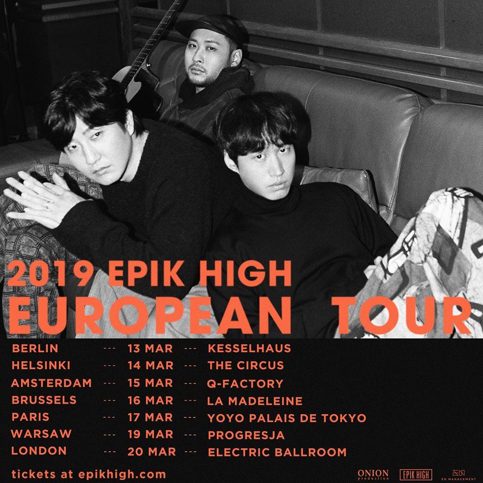 epik high, epik high profile, epik high facts, epik high members, epik high age, epik high leader, tablo, epik high tour, epik high tickets