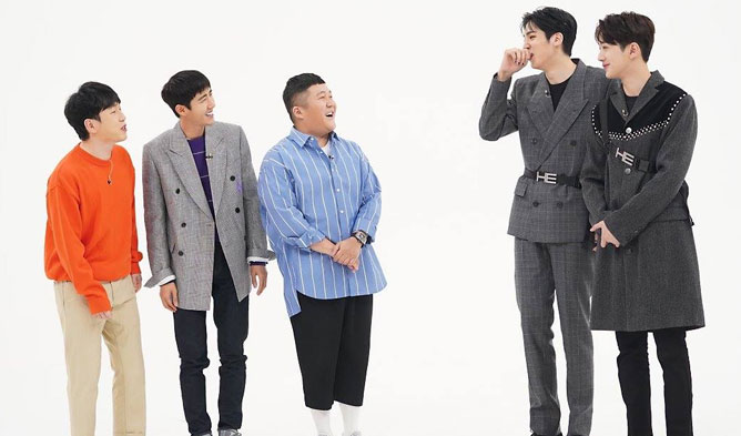 WooSeok KuanLin height, WooSeok KuanLin weekly idol