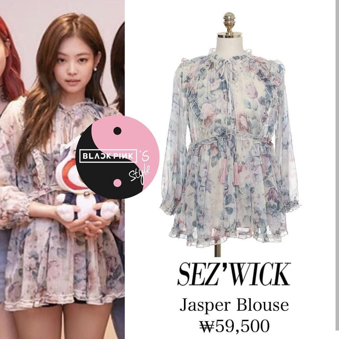 blackpink jennie fashion spring