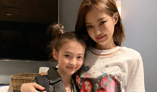 BLACKPINK's Jennie And Child Model Ella Gross Are Twins In Recent