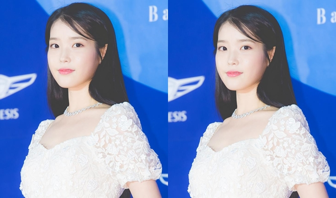 55th BaekSang Arts Awards Red Carpet, korean actresses dresses, iu baeksang