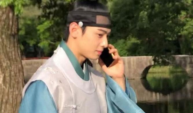 Rookie Historian Goo Hae Ryung cha eunwoo, cha eunwoo drama 2019, cha eunwoo astro, cha eunwoo filming, cha eunwoo hanbok, cha eunwoo joseon