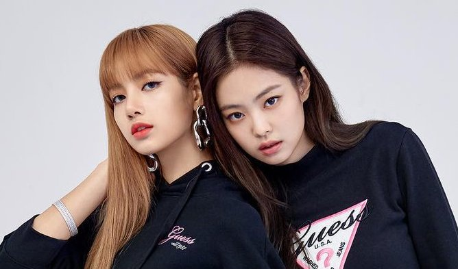 blackpink jennie lisa