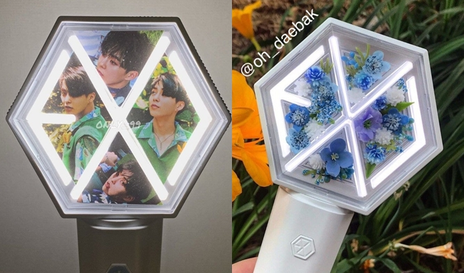 Eribong, exo lightstick, eribong 2019, exo ligstick 2019, exo lightstick version 3, kpop ligthstick, pretty lightstick, kpop lighstick customize