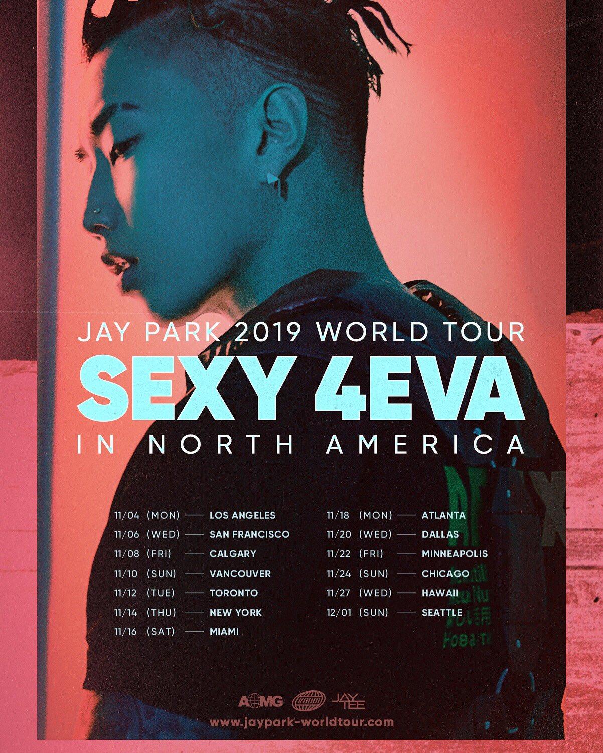 Jay Park Tour 2020 Jay Park 2019 World Tour