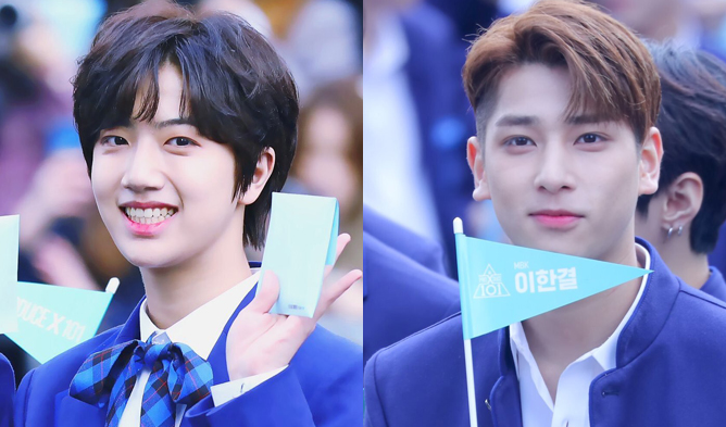 produce x 101, produce x 101 trainees, produce x 101 members, produce x 101 height, produce x 101 company, kpop, trainee, produce x 101 lee hangyul, lee hangyul