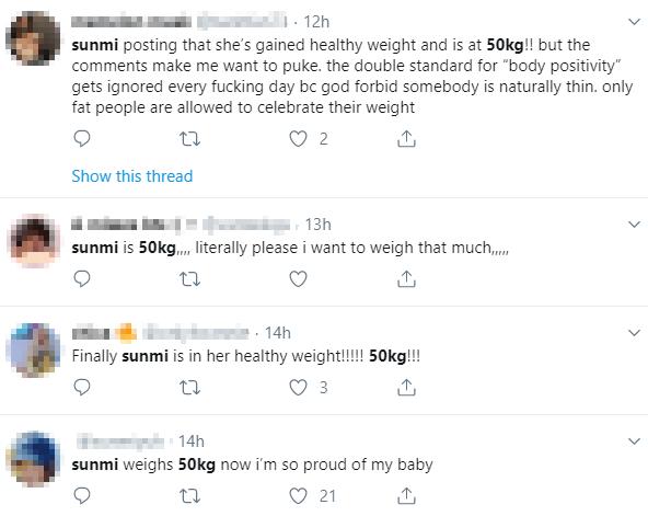 sunmi, sunmi profile, sunmi weight, sunmi weight gain, sunmi 8kg, sunmi 50kg, sunmi comeback