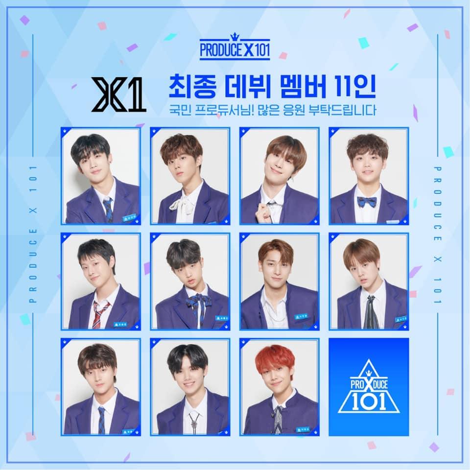 x1, x1 members, x1 debut, x1 facts, x1 height, x1 weight, x1 leader, x1 gocheok