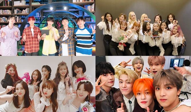 nct dream, lovelyz, chungha, day6, pentagon, astro, sf9, gwsn, cix, vav, boryeong mud festival lineup