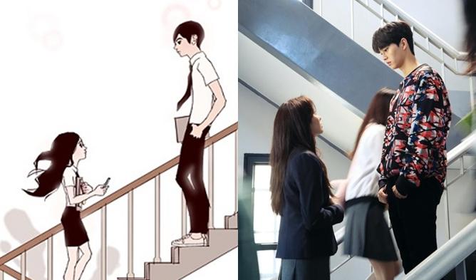 Love Alarm webtoon, love alarm drama, love alarm netflix, love alarm kim sohyun, kim sohyun 2019 drama, kim sohyun song kang, song kang drama, song kang love alarm, song kang 2019