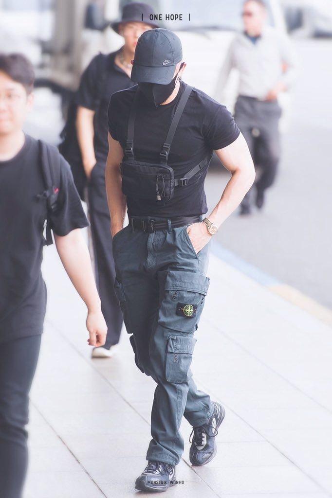 monsta x wonho fashion