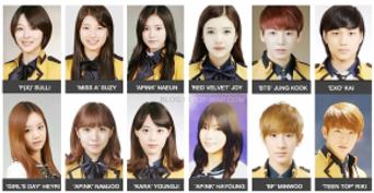 16 Photos of K-idols Graduating SOPA