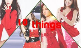 10 Things About Idol Girls In Sexy Santa Costumes