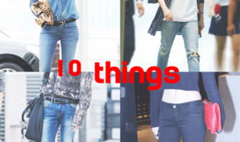 10 Things K-Fashionistas' Stylish Ways To Wear a Pair of Blue Jeans