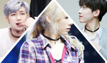 11 Idol Stars Who Adore Dainty Choker Necklaces