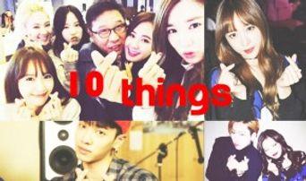 10 Things Kpop Stars Show Off Finger Heart