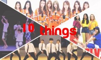 10 Things You Should Watch K-POP Cover Dance Videos