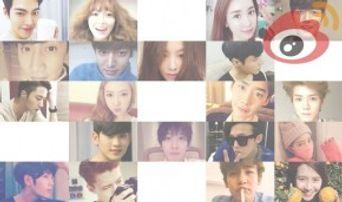 TOP 100 Weibo Fan Ranking Over Korean Celebrities