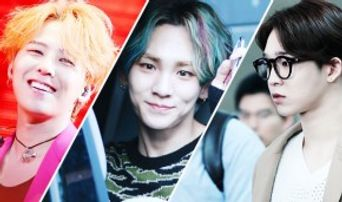 7 K-Stars Hot With Center Parting Hair