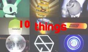 10 Things Variety Of Cheer Sticks For K-Pop Idols