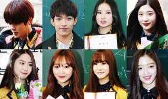 8 Idol Group Members Graduating High School Today