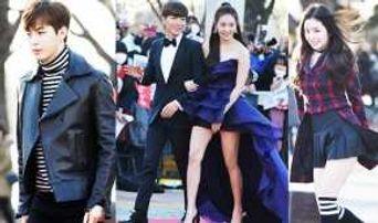 Don't Miss Kpop Stars Photo Walls At 5th GAON Awards