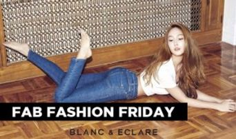 FAB FASHION FRIDAY: Jessica's BLANC and ECLARE Look