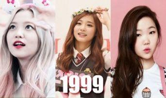 REPLY 1999! 7 K-Pop Idol Girls Born in 1999