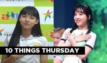 10 Things: K-Pop Idols' Pre-Debut Audition Tapes