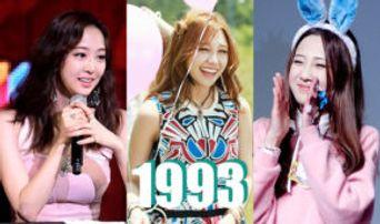 REPLY 1993! 10 K-Pop Idol Girls Born in 1993