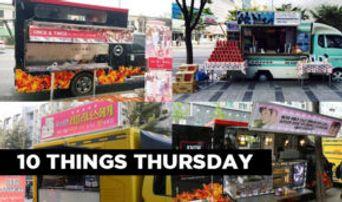 10 Things: K-Pop Idol Groups' Food Trucks For Fans