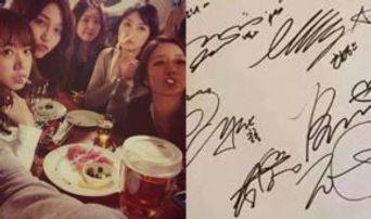 3 K-Pop Groups' Signatures While Drunk v. Sober