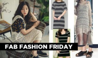 Fab Fashion Friday: Welcome the End of Summer in DIA's ChaeYeon