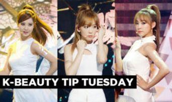Korean Beauty Tip Tuesday: K-Pop Idols' Temporary Tattoo Trend