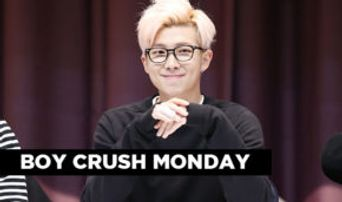 Boy Crush Monday: RAP MONSTER of BTS