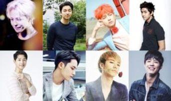 Top 30 Ideal Type Celebrities Chosen by Gay Men