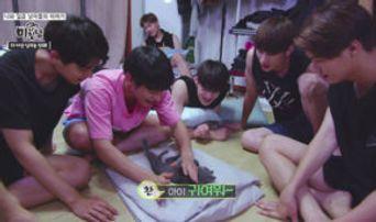 Plan A Boys' Maknae SuBin Joins the Group on 'Me & 7Men'