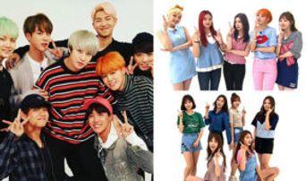 Ranking of K-Pop Idol Groups' Number of 'Weekly Idol' Appearances