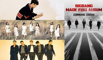Upcoming K-Pop Comeback & Debut Lineup for December 2016 (Update)