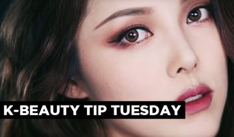 Korean Beauty Tip Tuesday: Easy & Beautiful Burgundy Makeup With One Lip Pencil