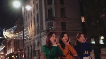 Teaser )) LOONA HeeJin HyunJin HaSeul - The Carol (London Ver.)
