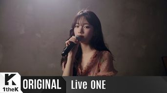 Video )) Suzy - Pretending To Be Happy (Live on 1theK)