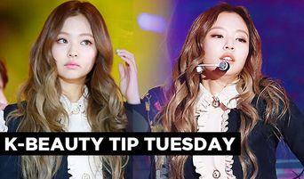 Korean Beauty Tip Tuesday: BLACKPINK Jennie's Peachy Eye Shadow Trend