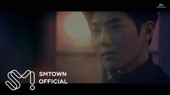 MV )) EXO SuHo X Song YoungJoo - Curtain
